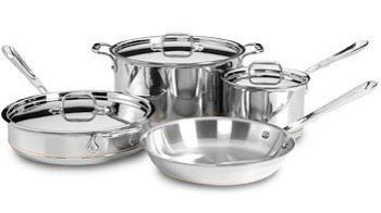 Stainless-Steel Cookware Set