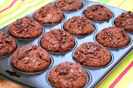 Muffins in a muffin pan