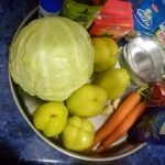 Vegan Cabbage Soup Ingredients