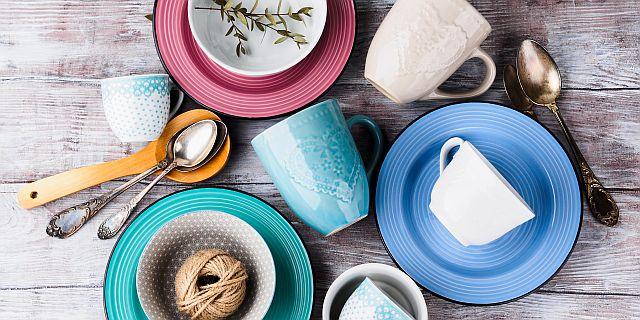 Ceramic crockery tableware