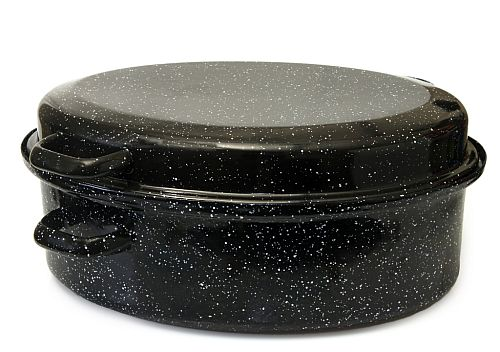 graniteware roaster